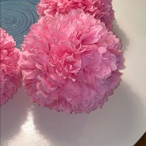 Pink flower balls! Buy 8 and you get a discount